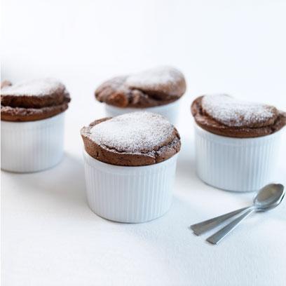 Mary Berry's hot chocolate soufflés   Dessert recipes ...