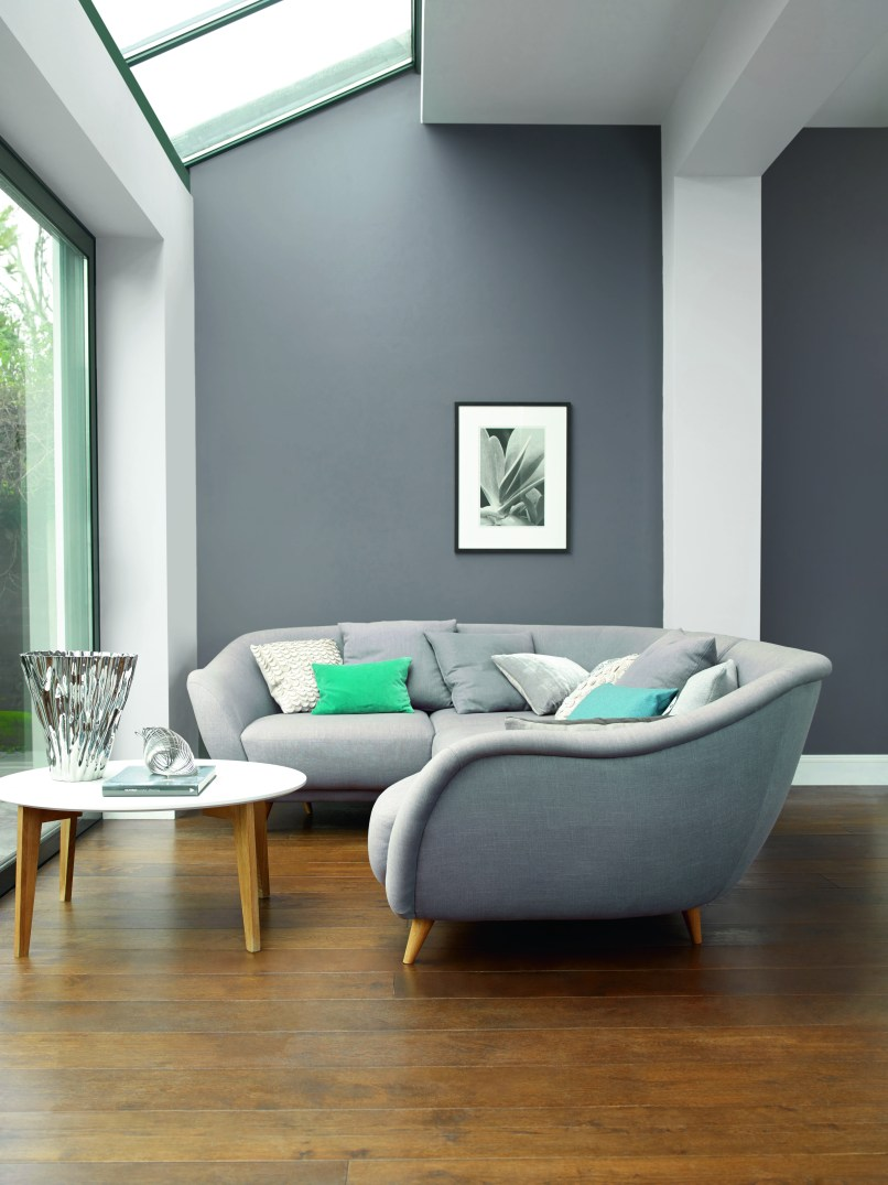 Dulux grey living room ideas for Paint living room online