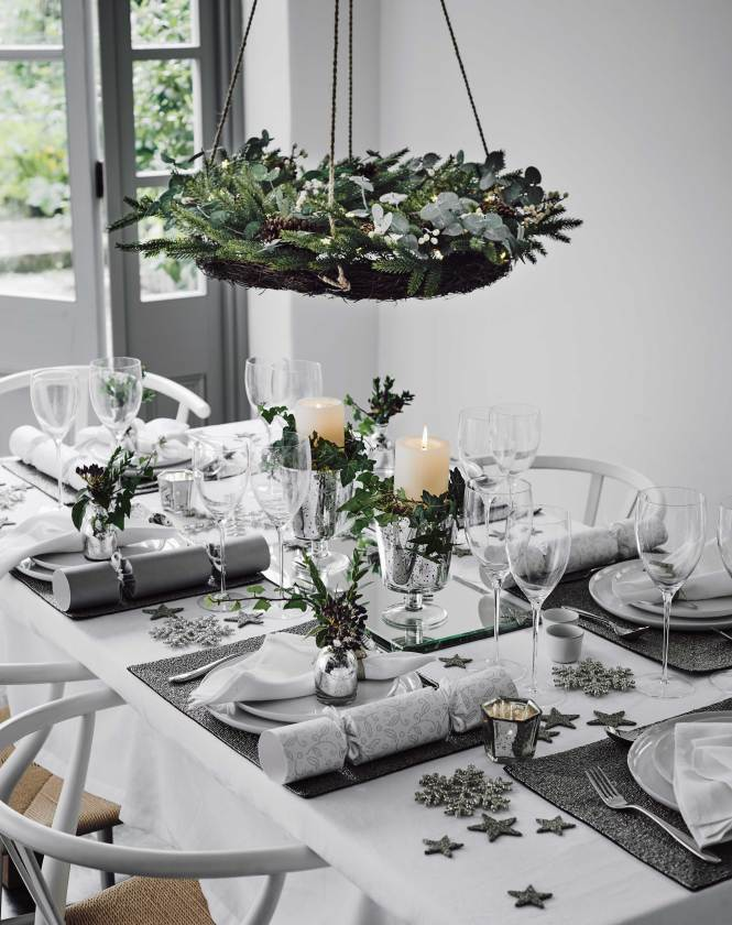 Decorating Christmas Table Martha Stewart Simple Design