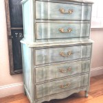 How To Makeover Old French Provincial Dresser