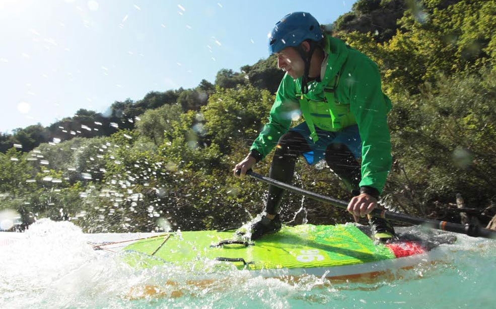 Outdoor clothing for paddle boarding