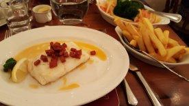 Cod and Chorizo