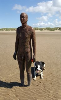 Anthony Gormley and Riley