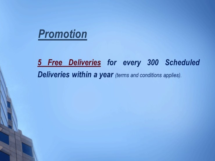 Promotion on WordPress