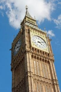 The beautiful Big Ben Clock Tower.