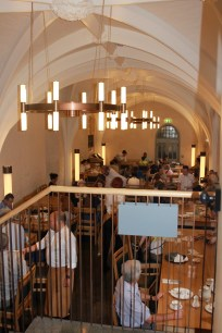 The Cellarium Cafe located at Westminster Abbey.