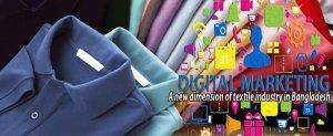 El marketing digital puede ayudar a encontrar clientes específicos para un fabricante de ropa.