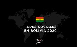 Redes Sociales en Bolivia 2020