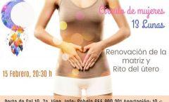 Círculo de mujeres 13 Lunas: Renovación de útero