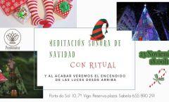 Meditación sonora de Navidad en Vigo