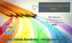 Iniciación a Reiki Cristal Arco Iris