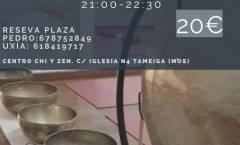Baño de Gong en Mos con Pincho Gallego