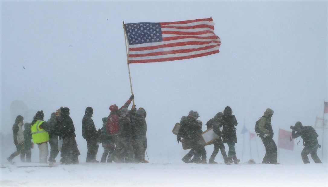 Veterans for Standing Rock Head Evacuation Mission