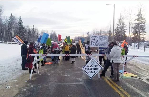 Bigstone Cree Nation Blocks Roads, Denies Access to Oil and Gas Companies
