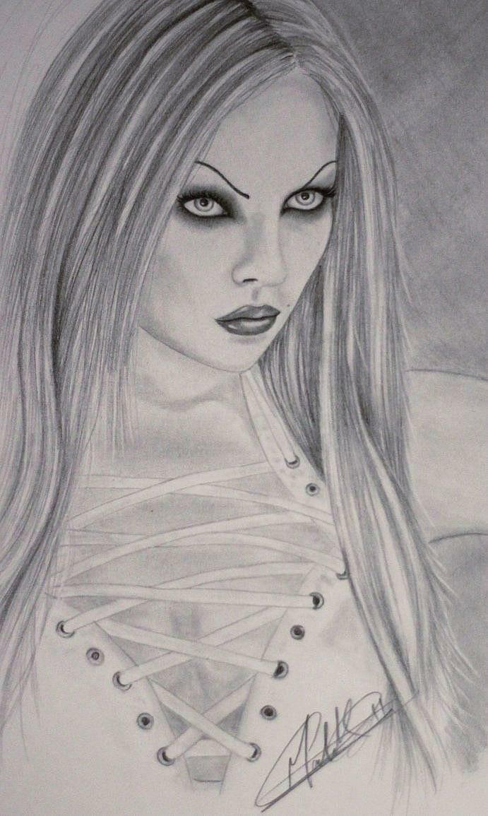 Fan art of Elena by Malak Malebari