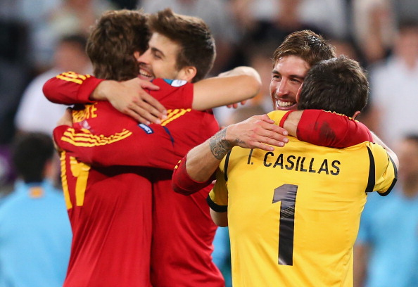 Pique has enjoyed plenty of success alongside Madrid players at international level.