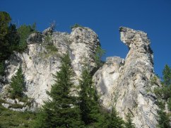 Rock formations on Penken.