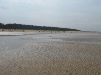 The beach at Wells.