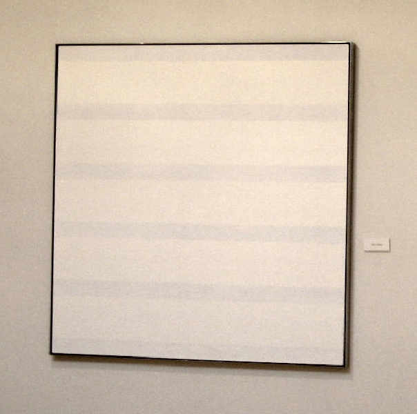 Ordinary Happiness, Taos, New Mexico, crop of an Agnes Martin Painting, photo © 2007 by QuoinMonkey. All rightsreserved.