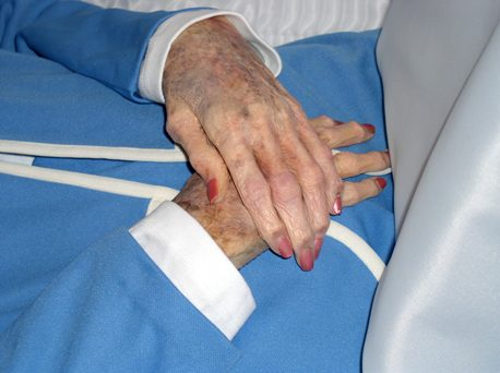 My Mother's Hands, photo © 2008 by Bob Chrisman, all rightsreserved.