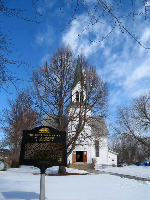 St. Paul's Icelandic Lutheran Church, March 2009, photo © 2009 by Teri Blair, all rights reserved