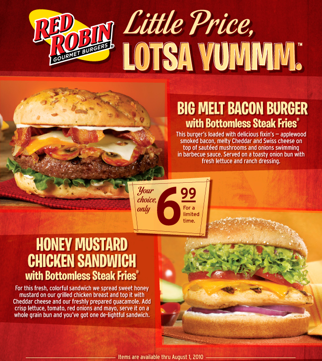 Red Robin Homepage