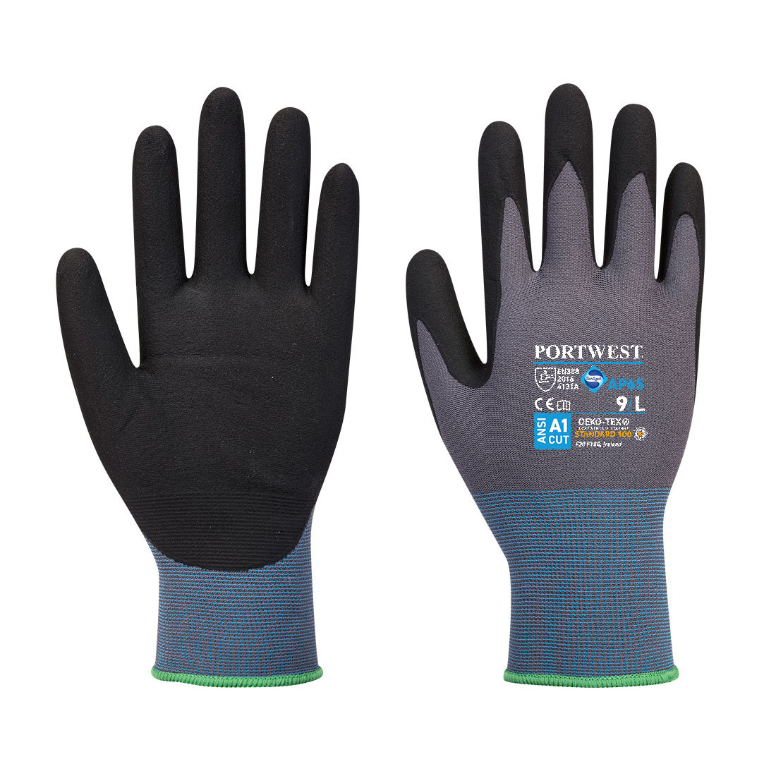 Redrok Workwear Centre Plymouth NPR Pro Nitrile Foam - Black/Grey
