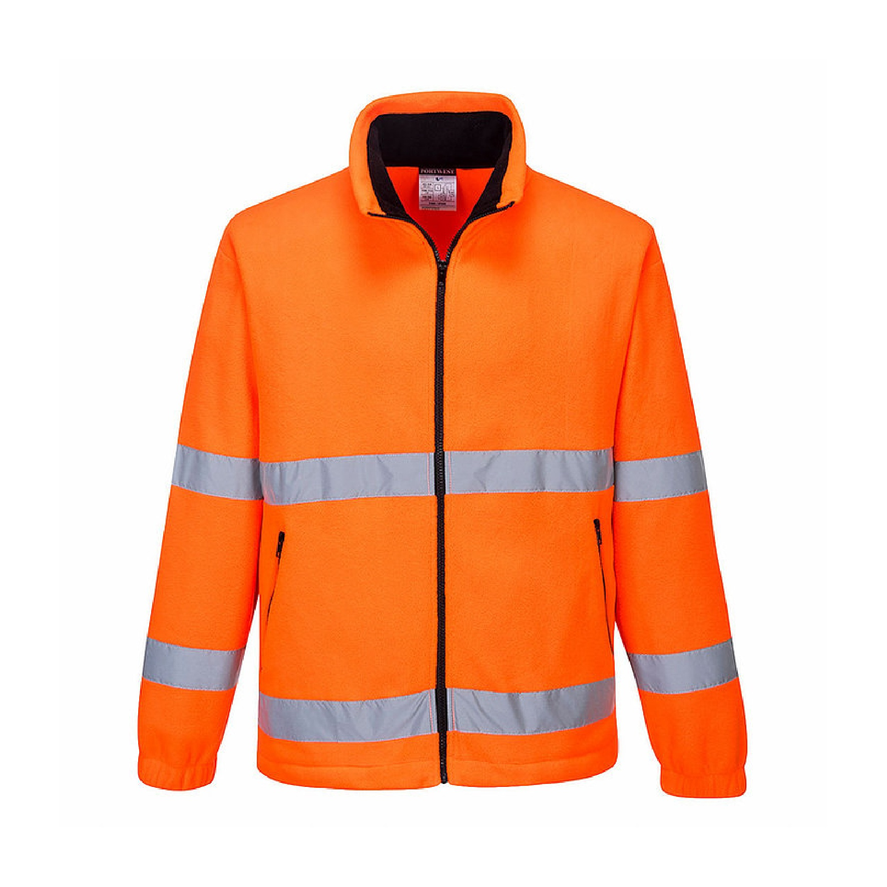 Redrok Workwear Centre Plymouth Hi-Vis Essential Fleece - Orange
