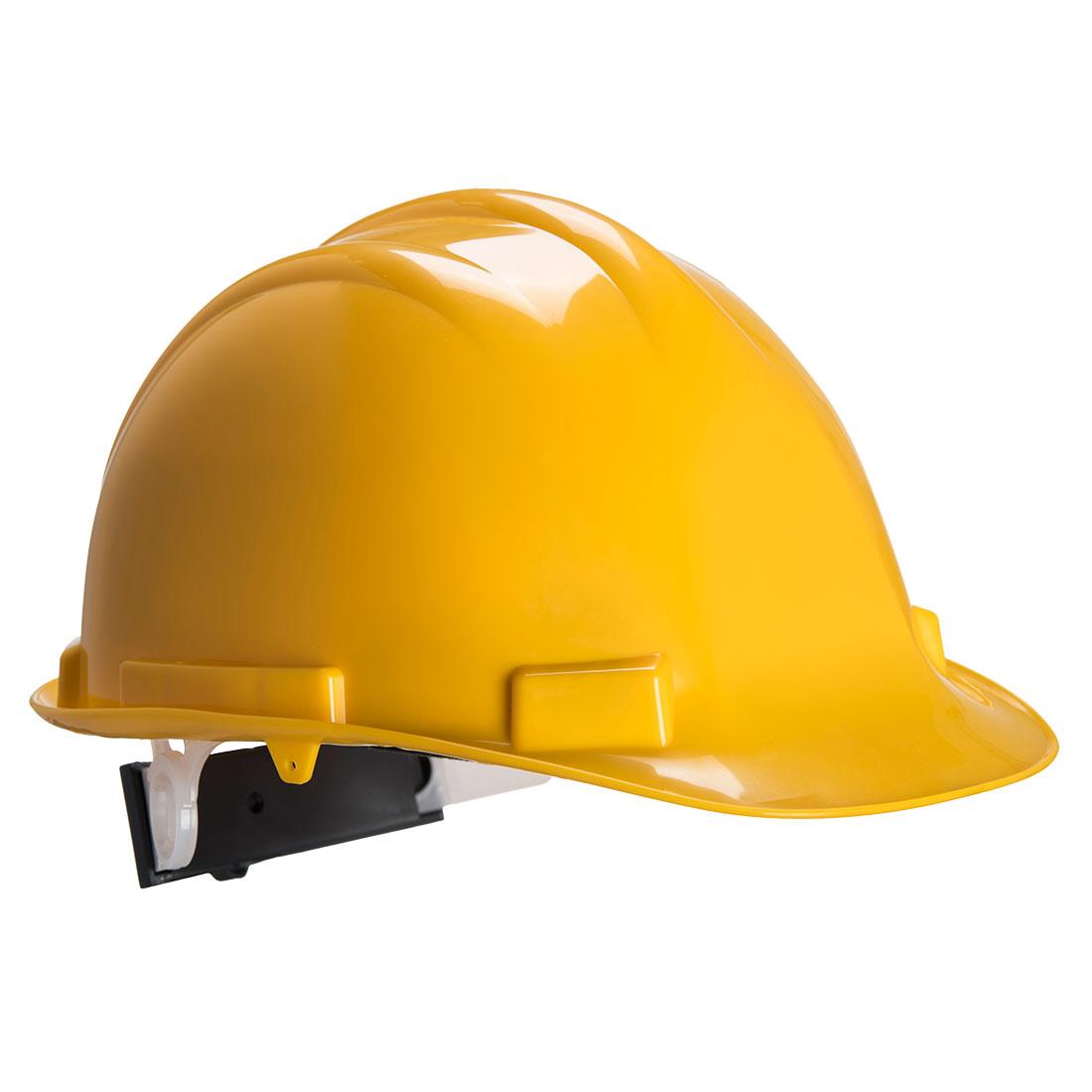 Portwest Expertbase Wheel Safety Helmet - Yellow