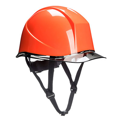 Redrok Workwear centre Plymouth Skyview Safety Helmet - Orange