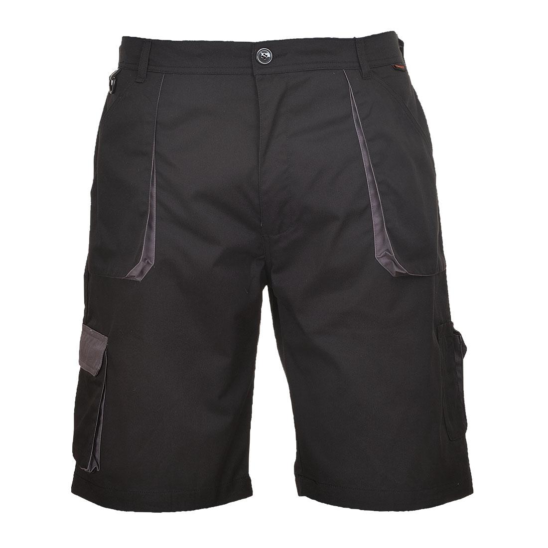 Portwest Texo Contrast Shorts - Black