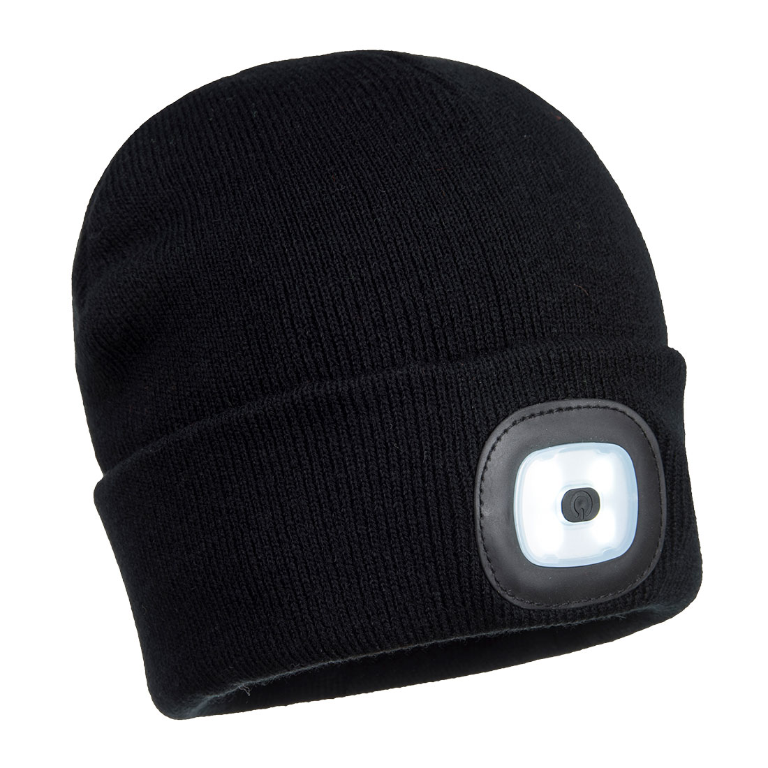 his warm and comfortable acrylic beanie hat features a removable LED front light for superior visibility in low light conditions. The rechargeable LED can be charged in a USB port.