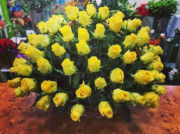 Korpa 101 ruža 1