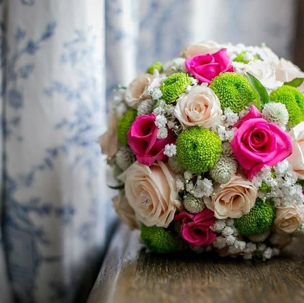 Bidermajer lopta od ruža 80eur