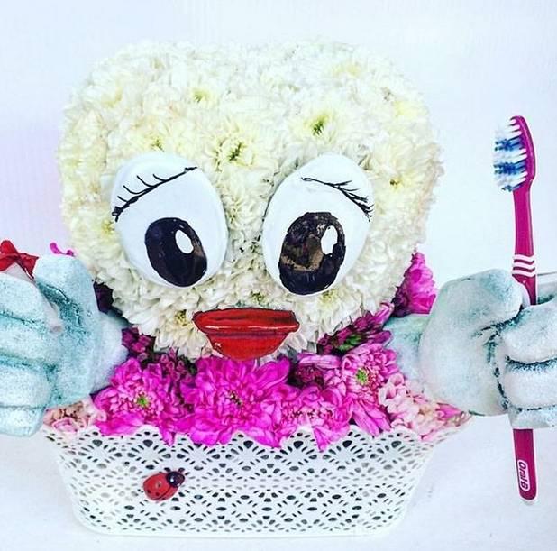 Zubić od cveća 110eur