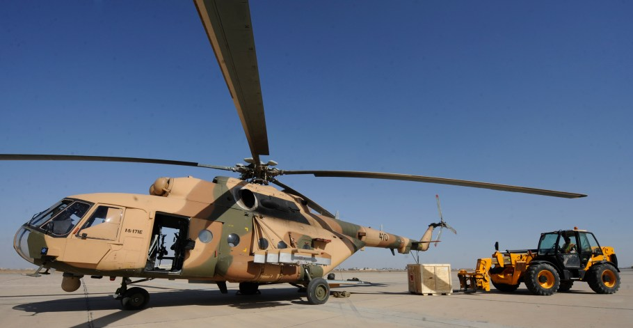 Air advisors aid weapons delivery to Iraqi partners, bolster internal security