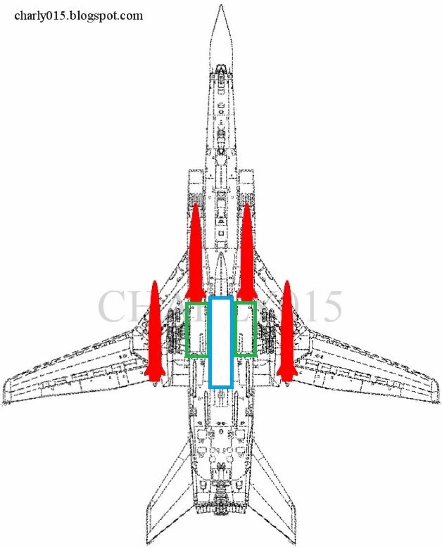 tu-22m3 plano 4 kinzhal