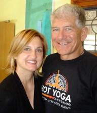 claire S-CAssella& lou CAssella Hot Yoga of NZ