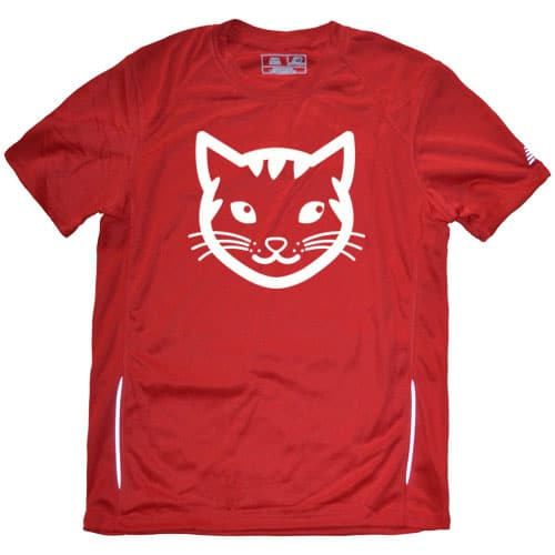 Men's Cat Running shirt