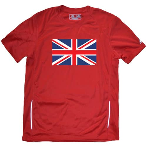 British Flag Running Shirt