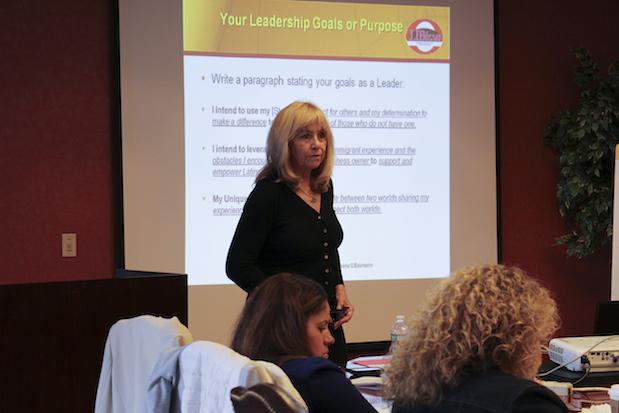 Susana Baumann supporting Latina entrepreneurs