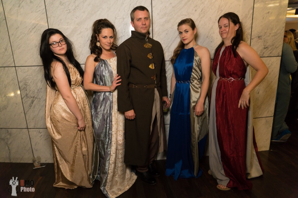 Costuming Littlefinger's Brothel Dresses from Game of Thrones