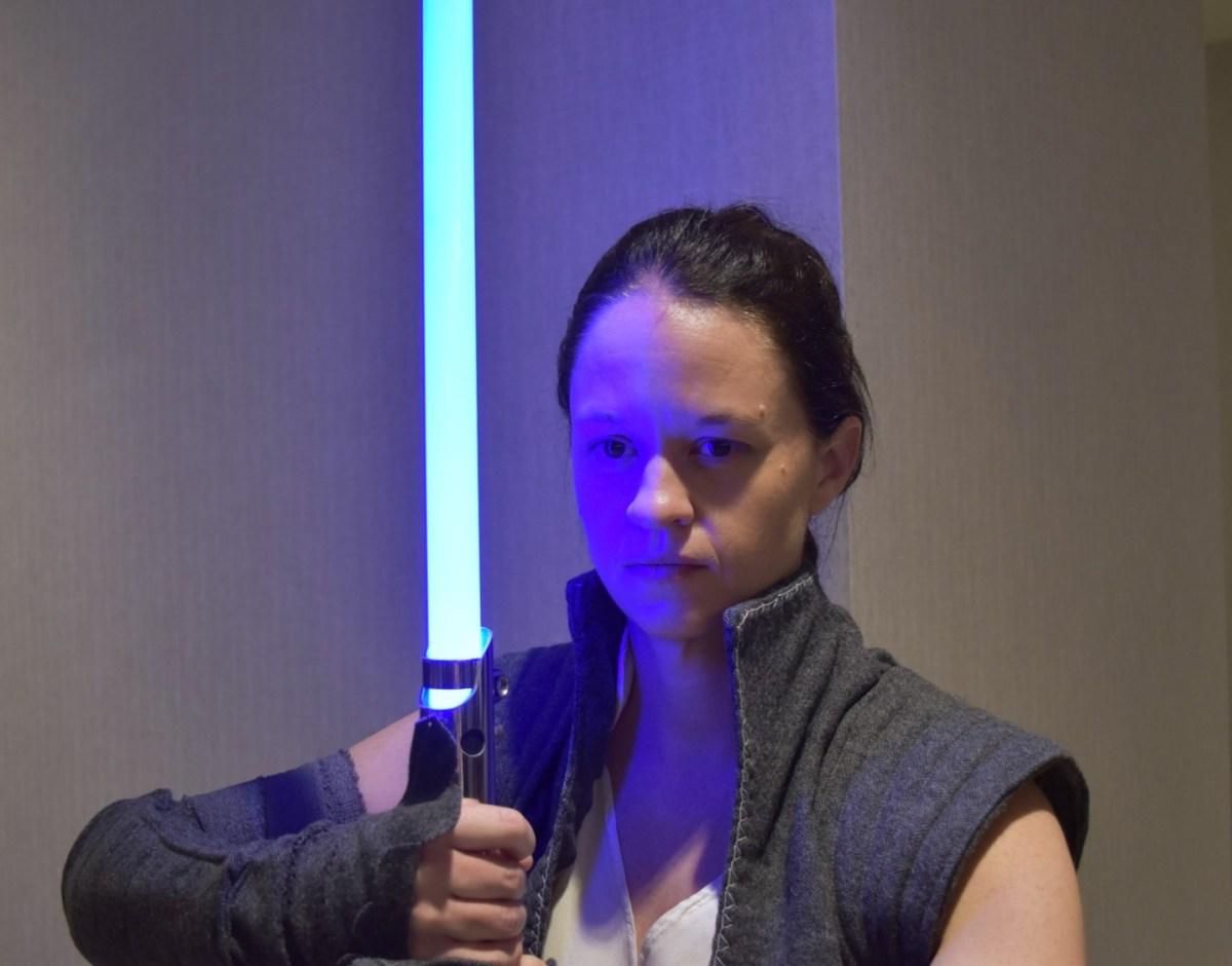 Costuming Rey from Star Wars: Belt & Accessories