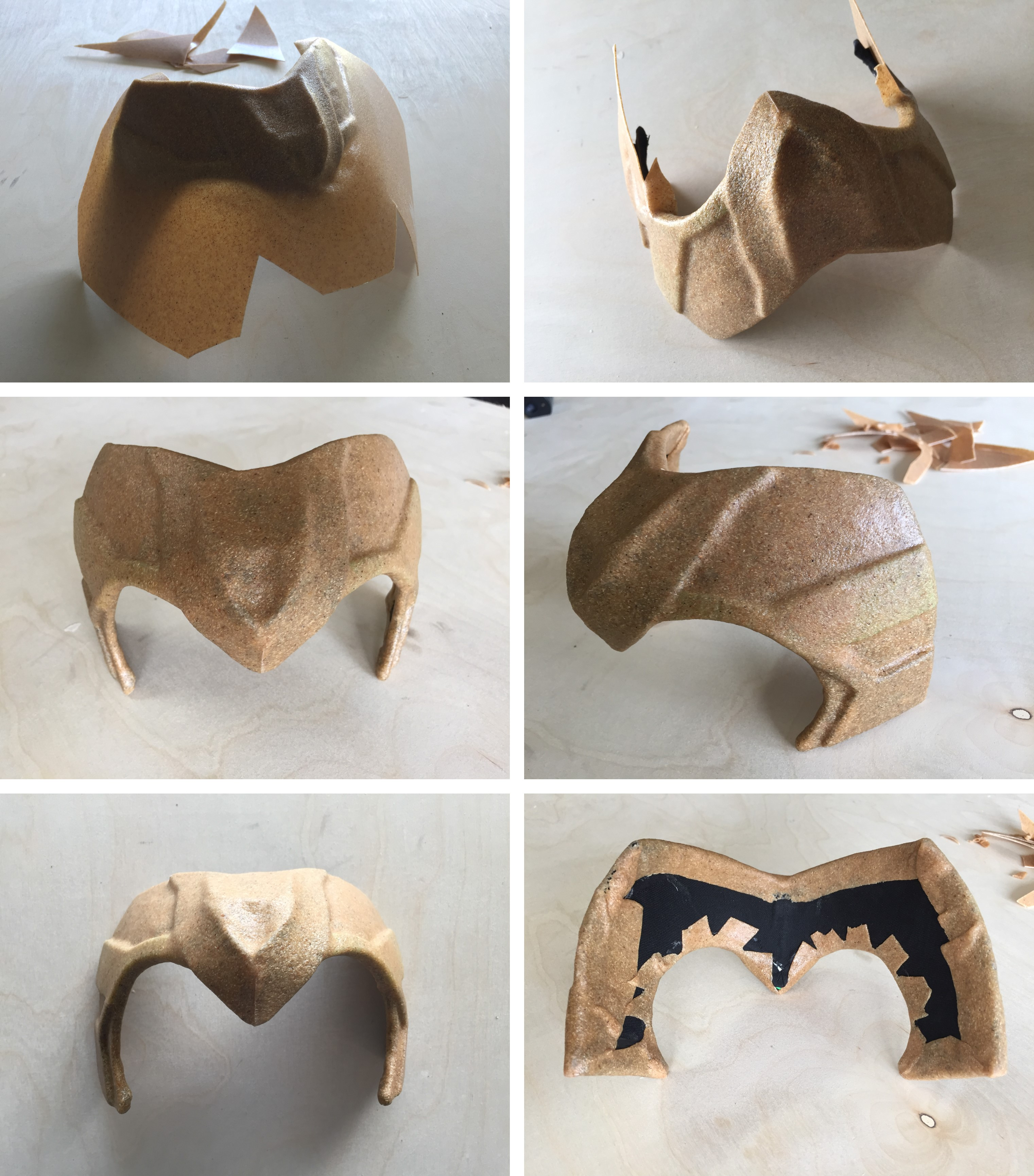Costuming (Burlesque) Loki: The DIY Helmet – Red Shoes  Red
