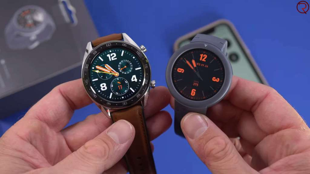 Huawei Watch GT (left) VS Amazfit Verge Light (right)