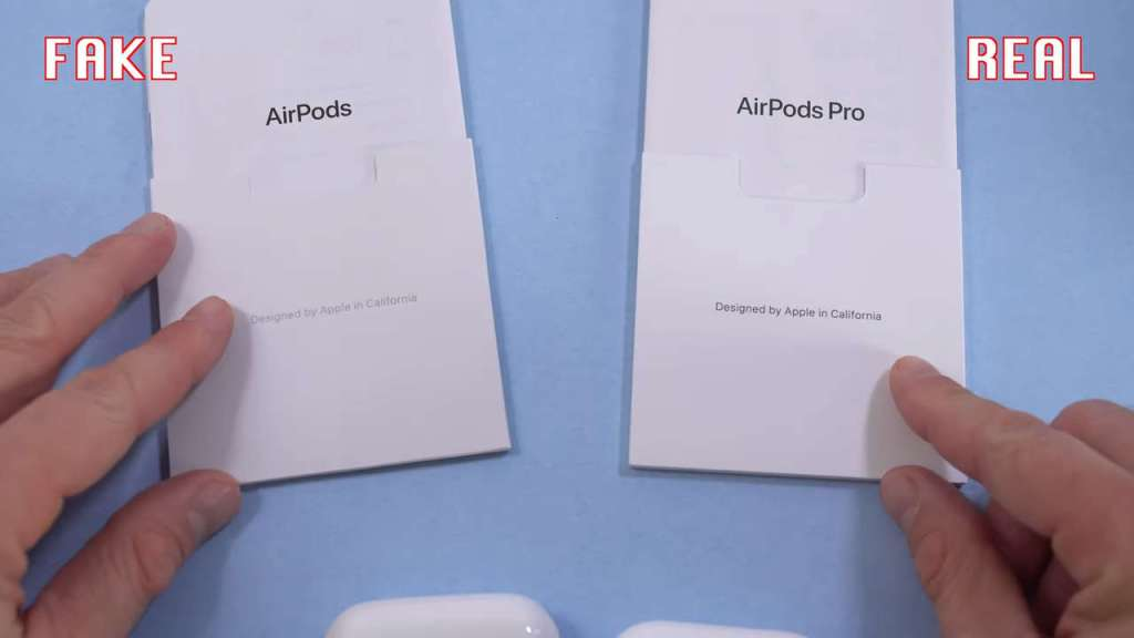 AirPods Pro: Fake vs Real Manual