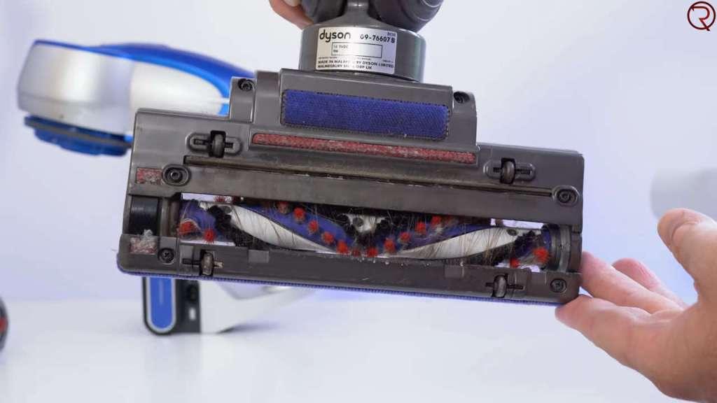 Dyson vacuum brush vs Jimmy JV83 main motorized brush