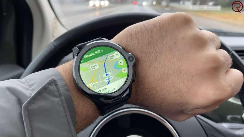 Kospet Prime Smartwatch Google Maps navigation