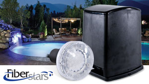 Replace your Pool's Fiber Optic Lights with Bright LED