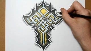 Celtic Cross Tattoo Designs
